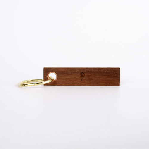 [woodywoorin] Wood collection/Stic Keyring Gold ring