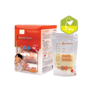[Jangan-hitech]  Mon&Baby item/ 2WAY breast milk storage bags 180ml 120pcs
