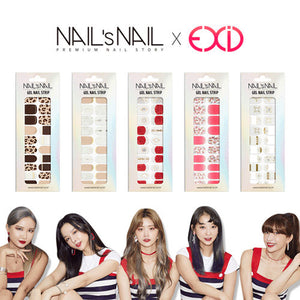 [SHMALL] EXID X Nail/ Sticker/ Summer/ Beauty/ Easy/ Nail art/ set