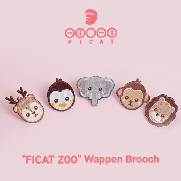 [FICAT ZOO] WappenNCT Life #1 / Brooch / NCT SnapBack /animal characters
