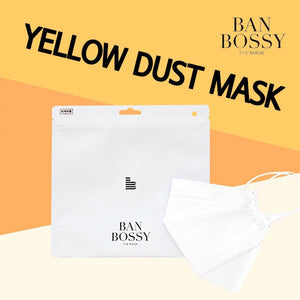 [BAN BOSSY]KF80 MASK FILTER 1EAyellow dust/fourfold electrostatic filter