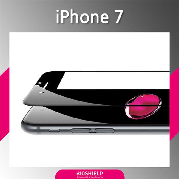[BIOSHIELD]3D forming curved screen protector for  iPhone 7 (PET)