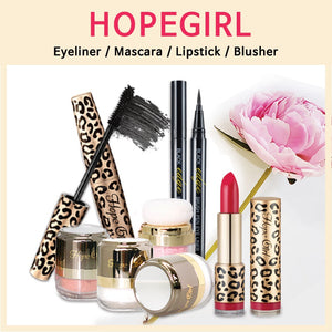 Hopegirl3D / Powder Blusher /Magic Mascara /Edge Eyeliner / Lipstick