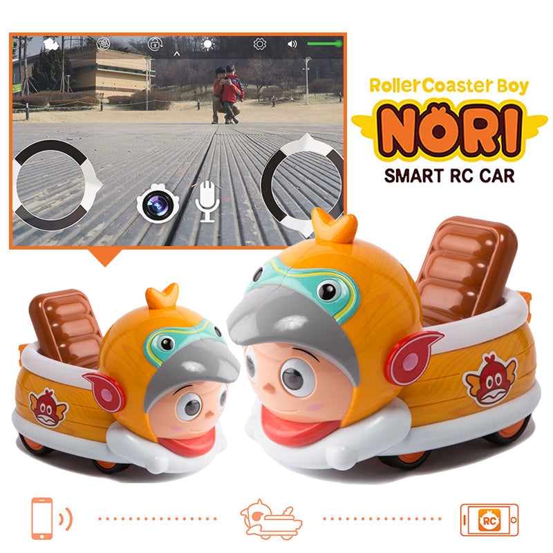 [NORI]Smart RC Car NORIConnect to Smart RC Car NORI/Camera/Mic/Volume control