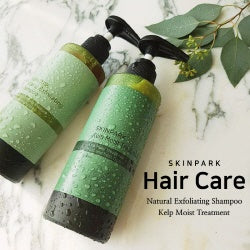 [SKINPARK]hair CareKelp Moist Treatment/Natural Exfoliating Shampoo/Healthy Scalp