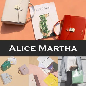 ALICEMARTHA High quality bag/Leather bag/Shoulder bag/Handle bag/korea