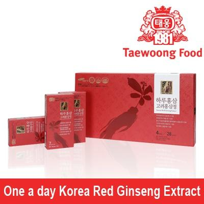 [Taewoong Food] HANTAESAM One a day korea red ginseng Extract