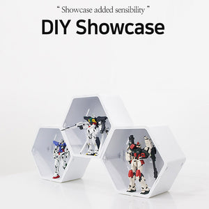 [purmi]ShowcaseHoneycomb shape deisgn/display case/DIY Flower Pot/Korea