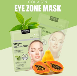 [COS.W]Collagen/eye zone mask/moisturizing/conditioning/skin protection/keratin managament/30sheets