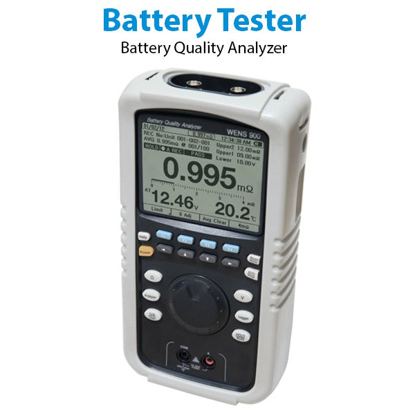 Battery Quality Analyzer WENS 900 / Battery Tester/Battery Resistance Tester/UPS Battery Health