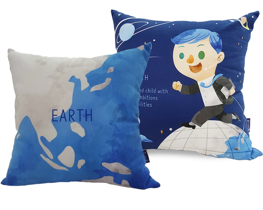 [SENSE-I] STAR9 Character Cushion / cotton / planet / character / children cushion