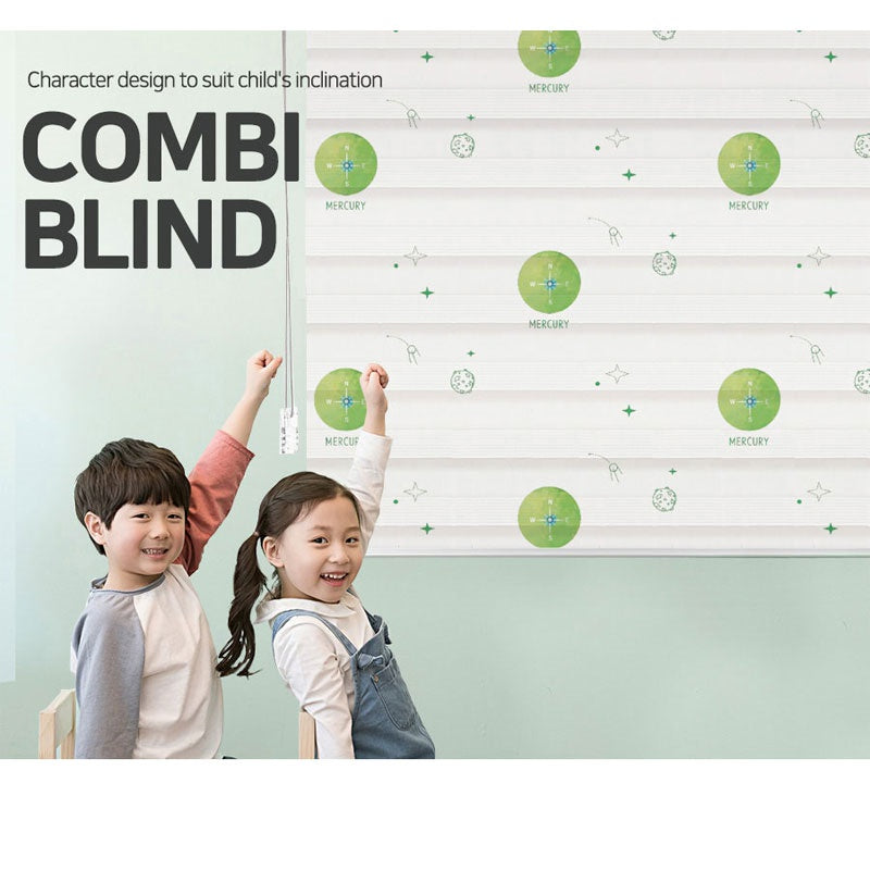 [SENSE-I] STAR9 COMBI BLIND / planet / character / children blind