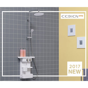 [Cebien]Self storage shower mixerMoving sunflower shower head/Slide hanger/korea