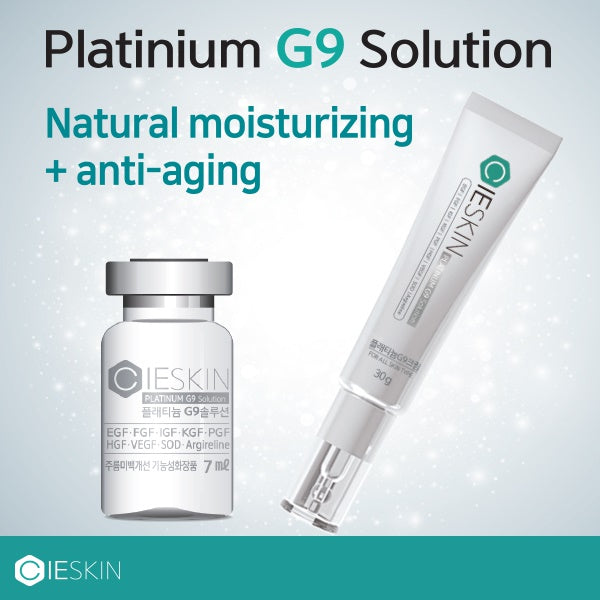 CIESKIN MTS TONING STAMP/G9 Solution Ampoule/Cream/Skin Absorption Device/Wrinkle care/Brightening