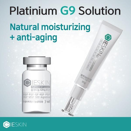 CIESKIN Platinum G9 Solution Ampoule / Cream/Moisturizing/Anti-aging/Tightening Pores/Skin Soothing