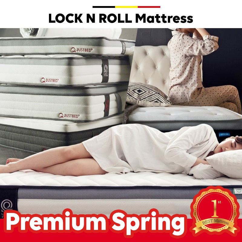 LOCK N ROLL Mattress SILENCE POWER SPRING P/Mattress plus comfort and convenience