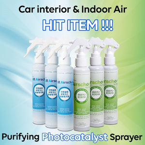 [Airschon]Car / Indoor Air purifying photocatalyst sprayerFresh/Sick house syndrome