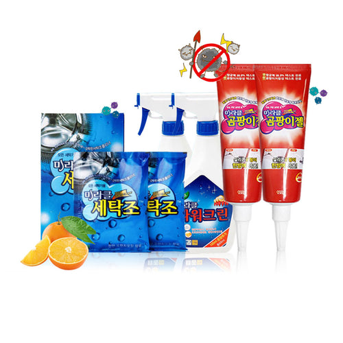 [Miracle] Mildew Gel/ Washer Cleaning/ Power Clean/ Washer Cleaning/ 99.9% removal/ Korea