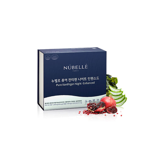 [Elsol Company] Nubelle Pure Xanthigen Night Enhanced 28packs (32.4g)