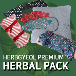[Herbgyeol] Premium Herbal Pack/ Healthy/ Eye, Wrist, Neck, Shoulder pack/ Korea