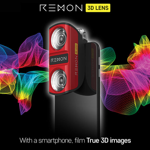 [REMYDE] Smartpone acc/ 3D lens/ Simply/ Full HD/ With smartphone