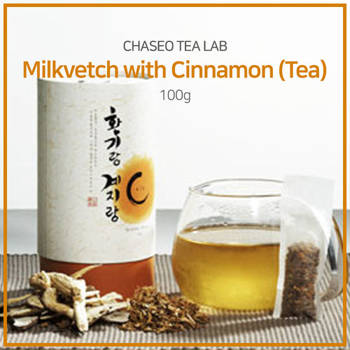 [ChaSeo Tea Lab] Milkvetch with Cinnamon (Tea) 100g/ Healthy tea/ Tea time