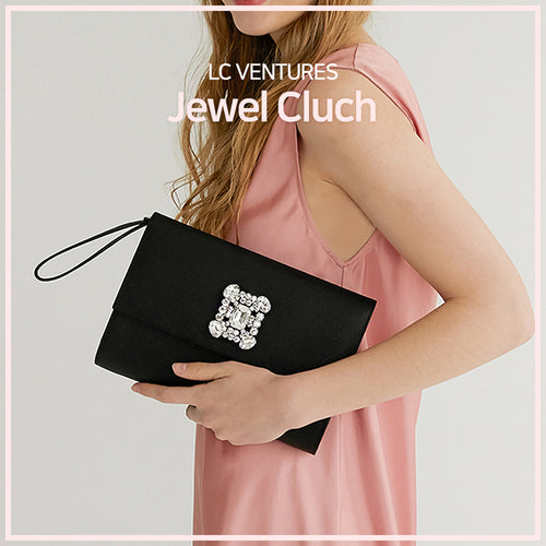 [LC Ventures] Fashion accessory/ Jewel Cluch/ neck tie/ freckle/ Jewel fashion cluch