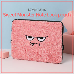 [LC Ventures] Fashion accessory/ Monster note book pouch/ Notebook item/ stationery