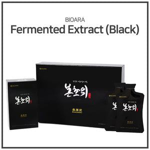 [BIOARA] BONCHOWI Fermented Extract (Black) 20ml*30Pouch/ Healthy drink/ Korean drink