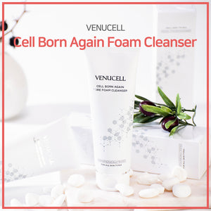 [DREAMCOS] VENUCELL Cell Born Again Foam Cleanser 150ml/Cleansing Foam