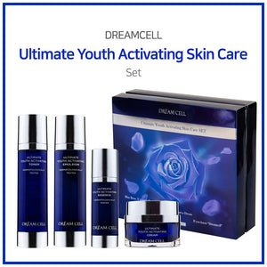 [DREAMCOS] DREAMCELL Ultimate Youth Activating Skin Care SET