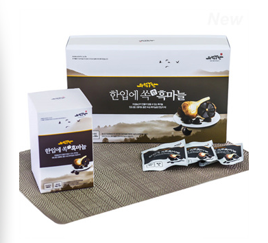 [UISEONG FARM] One Bite Peeled Black Garlic 16g*30pk