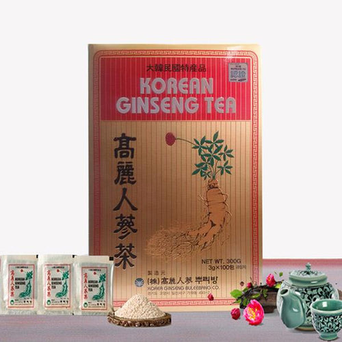 Korean Ginseng Tea 100Bags x 6ea / Paper Box