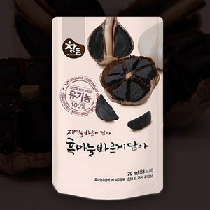 (organic) black garlic juice 70mlx30ea / Health Drinks