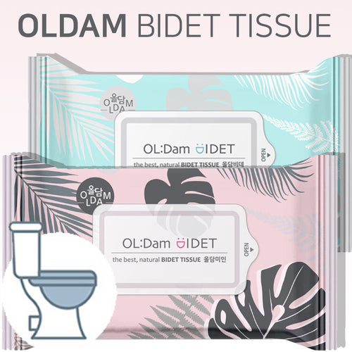 [OLDAM] Toilet Wipes/ Flushable wipes/ Premium wipes for the whole family