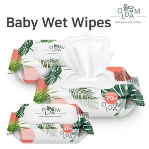 [OLDAM] Wet Tissue/ Baby tissue/ Honest Natural Baby tissue/ Premium wet tissue for the whole family
