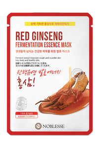 [TERRASUN] Nobless Facial mask/ Noblesse Red Ginseng Fermentation Essence Mask 10ea