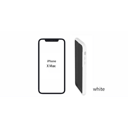 [Pixelro] Soft Privacy Case i-phone MAX White