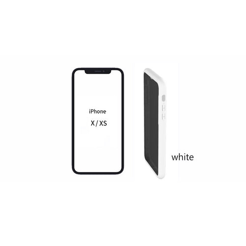[Pixelro] Soft Privacy Case i-phone X/XS White