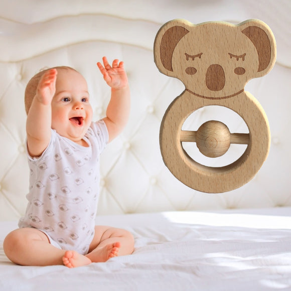 Baby Natural Wooden Teether