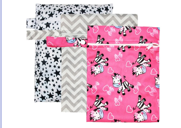Waterproof Reusable Nappy Bags