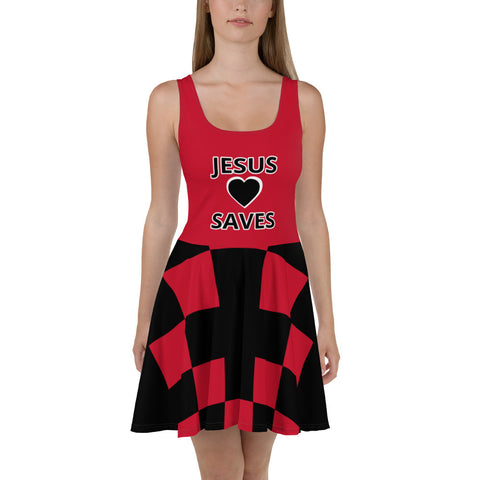 Skater Dress Jesus Saves