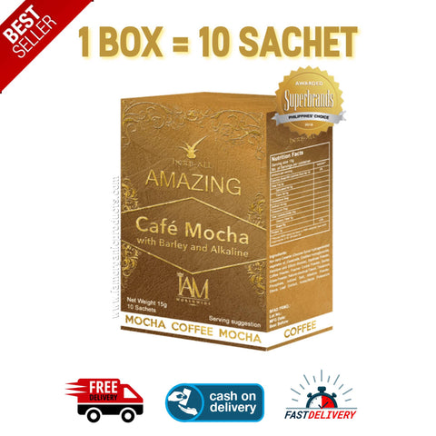 Coffee Mocha with Barley and Alkaline