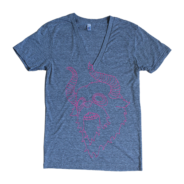 Monster V-Neck Tee