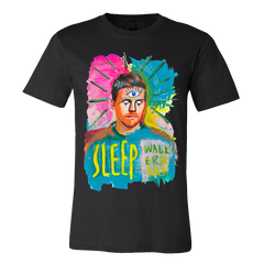 SLEEPWALKER BLACK TEE