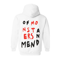 OMAM WHITE PULLOVER HOODIE
