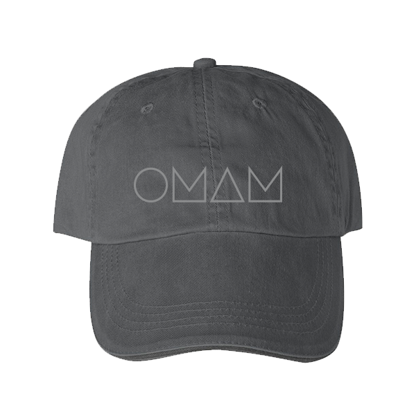 OMAM GRAY LOGO HAT