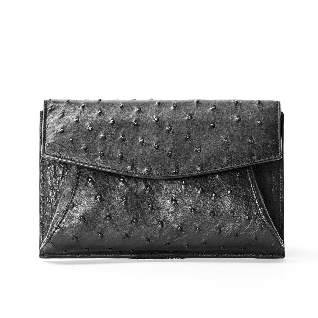 THE TEDDY CLUTCH | OSTRICH