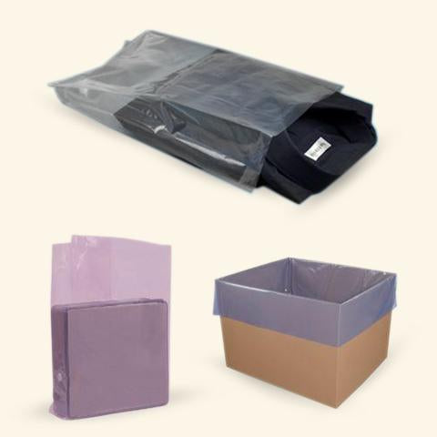 Poly Bags-Gusseted-Lamar Packaging Supplies Inc