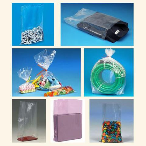 Poly Bags-Flat-Lamar Packaging Supplies Inc